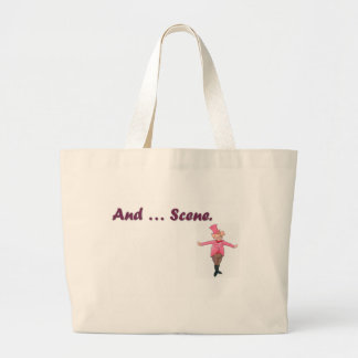 And ... Scene Large Tote Bag