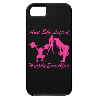 And She Lifted Weights Happily Ever After Case For The iPhone 5
