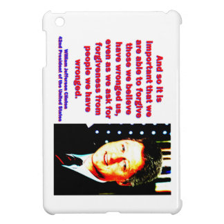 And So It Is Important - Bill Clinton iPad Mini Cases