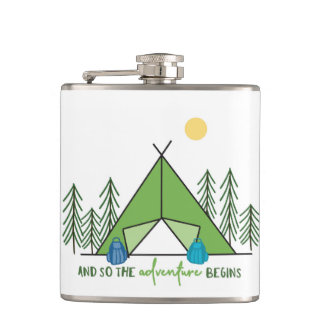 And so the adventure begins flask