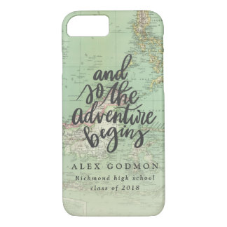 AND SO THE ADVENTURE BEGINS iPhone 8/7 CASE
