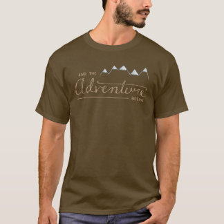 And the Adventure Begins Mens T-Shirt