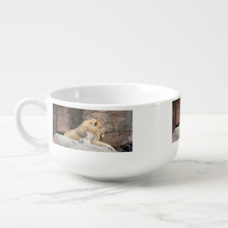 And The Lion Shall Lie Down With The Lamb Soup Mug