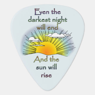 And the Sun Will Rise Guitar Pick