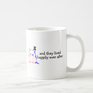 And They Lived Happily Ever After Penguins Coffee Mug
