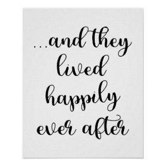 ...And They Lived Happily Ever After Poster