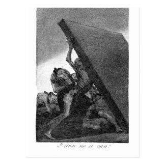And they still won't go by Francisco Goya Postcard