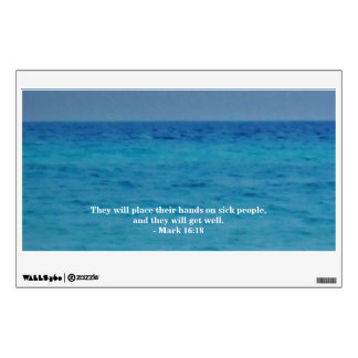 AND THEY WILL GET WELL WALL DECAL