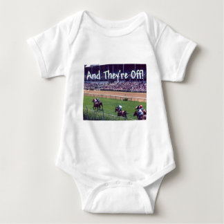 And They're Off! Baby Bodysuit