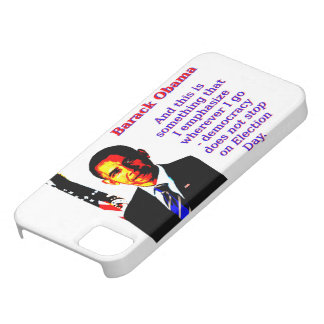 And This Is Something That I Emphasize - Barack Ob Case For The iPhone 5