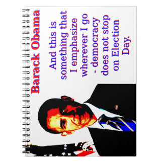 And This Is Something That I Emphasize - Barack Ob Notebooks