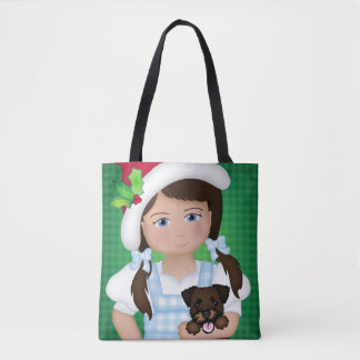 And Your Little Dog ToO!  Dorothy and Wicked Witch Tote Bag