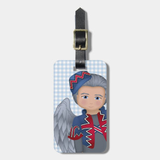 And Your Little Dog ToO!  Flying Monkey Luggage Tag