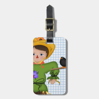 And Your Little Dog ToO!  Scarecrow Luggage Tag