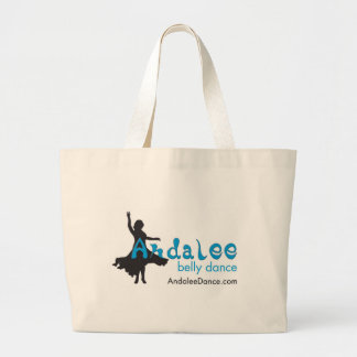 Andalee Belly Dance Merchandise Large Tote Bag