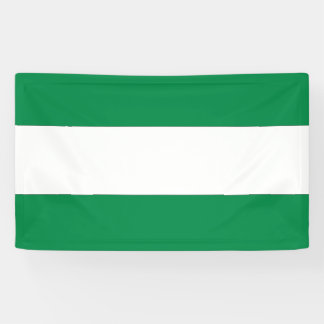 Andalucia Flag Banner