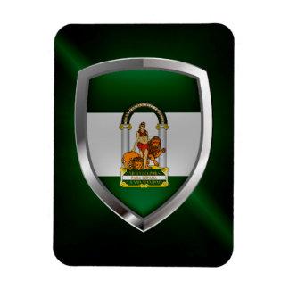 Andalucía Metallic Emblem Magnet