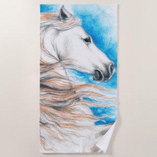 Andalusian Beauty Beach Towel