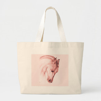 Andalusian Beauty In Sepia Large Tote Bag