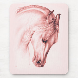 Andalusian Beauty In Sepia Mouse Pad