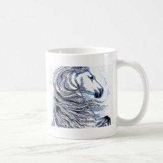 Andalusian Horse blue Coffee Mug