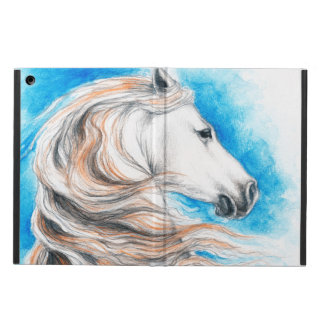 Andalusian Horse Blue Cover For iPad Air