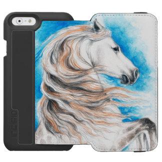 Andalusian Horse Blue Incipio Watson™ iPhone 6 Wallet Case