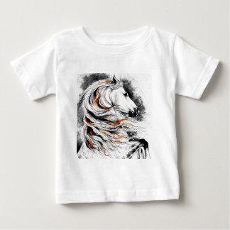 Andalusian Horse Comic Baby T-Shirt