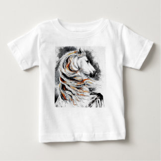 Andalusian Horse Comic Baby T-Shirt