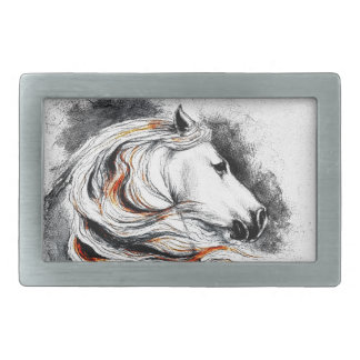 Andalusian Horse Comic Belt Buckle