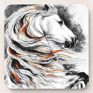 Andalusian Horse Comic Coaster