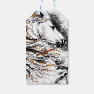 Andalusian Horse Comic Gift Tags