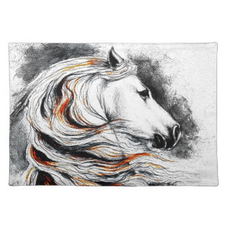 Andalusian Horse Comic Placemat