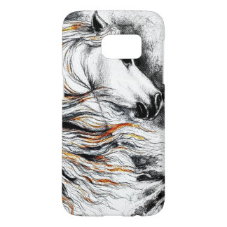 Andalusian Horse Comic Samsung Galaxy S7 Case