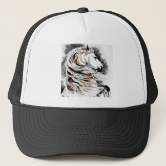 Andalusian Horse Comic Trucker Hat