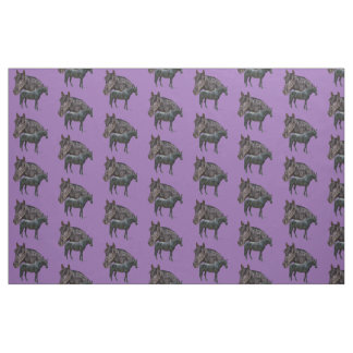 Andalusian Horse Graphic Fabric