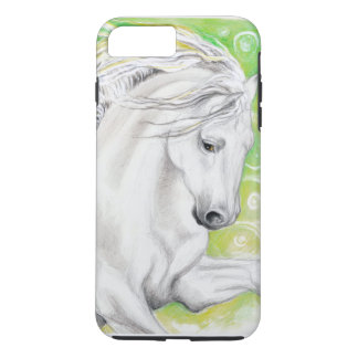 Andalusian Horse Green iPhone 7 Plus Case