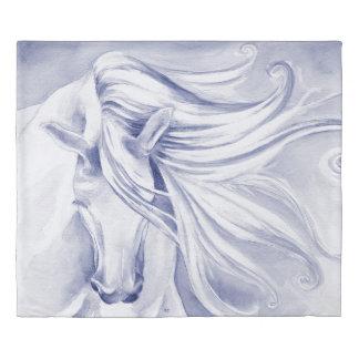 Andalusian Horse Mane Duvet Cover