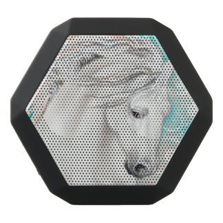 Andalusian In Blue Black Bluetooth Speaker