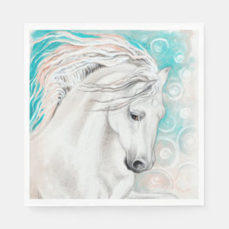 Andalusian In Blue Disposable Napkins