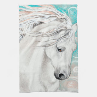 Andalusian In Blue Kitchen Towel