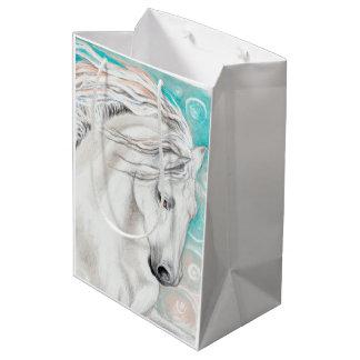 Andalusian In Blue Medium Gift Bag