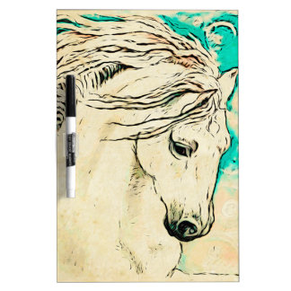 Andalusian In Bluelines block Dry-Erase Whiteboard