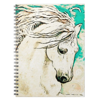 Andalusian In Bluelines block Spiral Notebooks