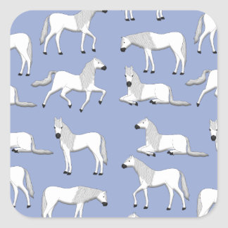 Andalusian selection square sticker