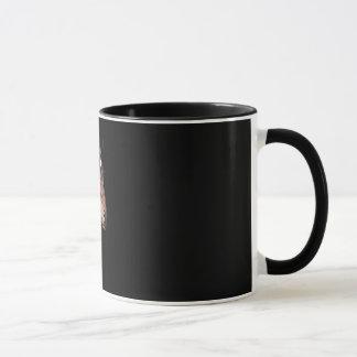 andalusian stallion at black background mug