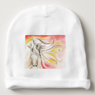 Andalusian Sunshine Horse Baby Beanie
