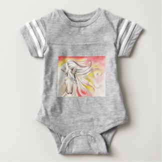 Andalusian Sunshine Horse Baby Bodysuit