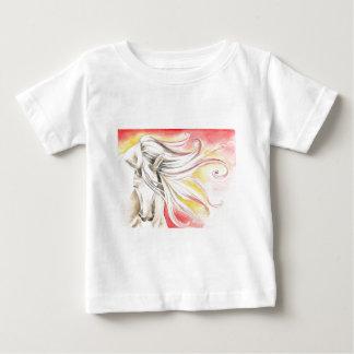 Andalusian Sunshine Horse Baby T-Shirt