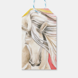 Andalusian Sunshine Horse Gift Tags